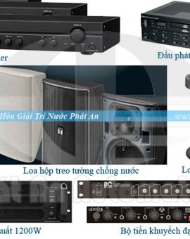 Hệ thống âm thanh nhạc nước