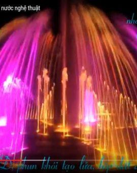 Đài phun nước âm sàn